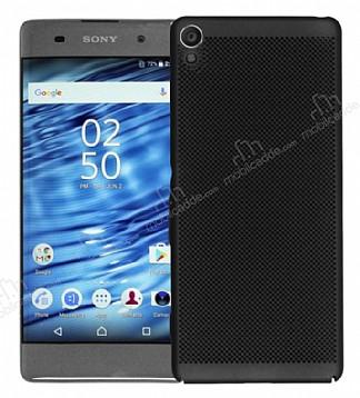 Eiroo Air To Dot Sony Xperia L1 Delikli Siyah Rubber Kılıf