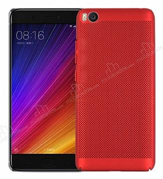 Eiroo Air To Dot Xiaomi Mi 5s Delikli Kırmızı Rubber Kılıf