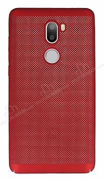 Eiroo Air to Dot Xiaomi Mi 5s Plus Delikli Kırmızı Rubber Kılıf