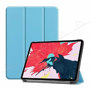Eiroo Apple iPad Pro 12.9 2020 Slim Cover Mavi Kılıf