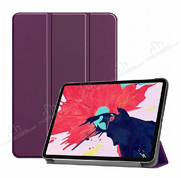 Eiroo Apple iPad Pro 12.9 2020 Slim Cover Mor Kılıf
