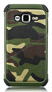 Eiroo Army Samsung Galaxy J3 Ultra Koruma Yeşil Kılıf