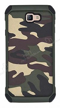 Eiroo Army Samsung Galaxy J5 Prime Ultra Koruma Yeşil Kılıf