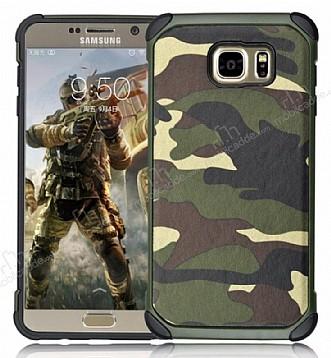 Eiroo Army Samsung Galaxy Note 5 Ultra Koruma Yeşil Kılıf