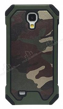 Eiroo Army Samsung Galaxy S4 Ultra Koruma Yeşil Kılıf