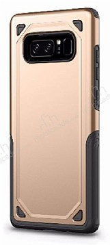 Eiroo Binary Samsung Galaxy Note 8 Ultra Koruma Gold Kılıf
