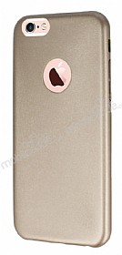 Eiroo Blade iPhone 6 Plus / 6S Plus Ultra �nce Deri Gold K�l�f