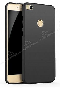 Eiroo Body Thin Huawei P9 Lite 2017 360 Derece Koruma Siyah Rubber Kılıf