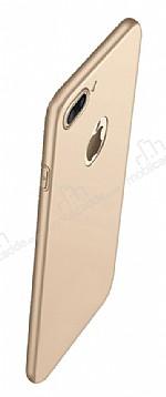 Eiroo Body Thin iPhone 7 Plus 360 Derece Koruma Gold Rubber Kılıf