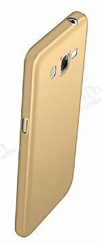Eiroo Body Thin Samsung Galaxy J3 2016 360 Derece Koruma Gold Rubber Kılıf