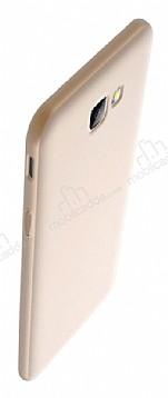 Eiroo Body Thin Samsung Galaxy J7 Prime 360 Derece Koruma Gold Rubber Kılıf