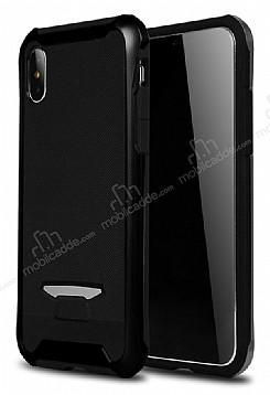 Eiroo Bumblebe iPhone X / XS Ultra Koruma Siyah Kılıf