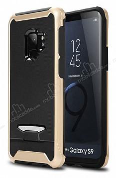 Eiroo Bumblebe Samsung Galaxy S9 Plus Ultra Koruma Gold Kılıf