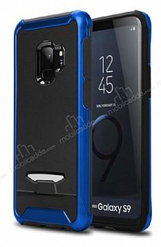 Eiroo Bumblebe Samsung Galaxy S9 Plus Ultra Koruma Lacivert Kılıf