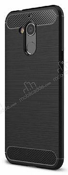 Eiroo Carbon Shield General Mobile GM 8 Ultra Koruma Siyah Kılıf