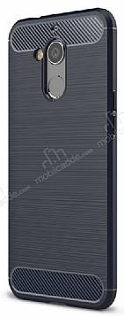 Eiroo Carbon Shield General Mobile GM 8 Ultra Koruma Lacivert Kılıf