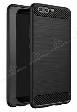 Eiroo Carbon Shield Huawei P10 Ultra Koruma Siyah Kılıf