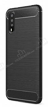 Eiroo Carbon Shield Huawei P20 Ultra Koruma Siyah Kılıf