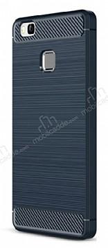 Eiroo Carbon Shield Huawei P9 Lite Ultra Koruma Lacivert Kılıf