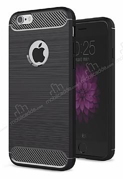 Eiroo Carbon Shield iPhone 6 / 6S Ultra Koruma Siyah Kılıf