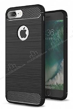 Eiroo Carbon Shield iPhone 7 Plus Ultra Koruma Siyah Kılıf