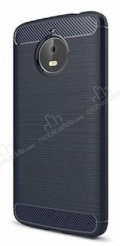 Eiroo Carbon Shield Motorola Moto E4 Plus Ultra Koruma Lacivert Kılıf