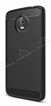 Eiroo Carbon Shield Motorola Moto E4 Plus Ultra Koruma Siyah Kılıf