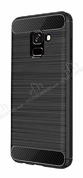 Eiroo Carbon Shield Samsung Galaxy A8 2018 Ultra Koruma Siyah Kılıf