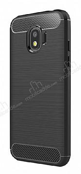 Eiroo Carbon Shield Samsung Grand Prime Pro J250F Ultra Koruma Siyah Kılıf