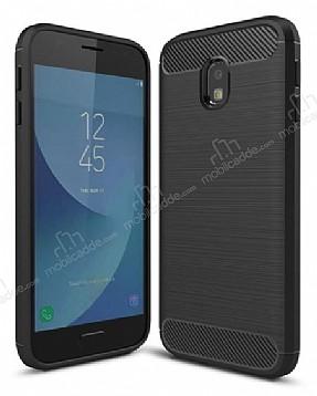 Eiroo Carbon Shield Samsung Galaxy J3 Pro 2017 Ultra Koruma Siyah Kılıf