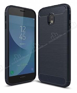 Eiroo Carbon Shield Samsung Galaxy J3 2017 Ultra Koruma Lacivert Kılıf