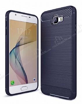 Eiroo Carbon Shield Samsung Galaxy J5 Prime Ultra Koruma Lacivert Kılıf