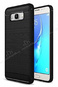 Eiroo Carbon Shield Samsung Galaxy J7 2016 Ultra Koruma Siyah Kılıf
