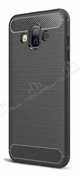 Eiroo Carbon Shield Samsung Galaxy J7 Duo Ultra Koruma Siyah Kılıf