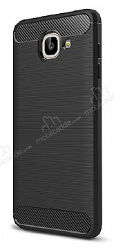 Eiroo Carbon Shield Samsung Galaxy J7 Max Ultra Koruma Siyah Kılıf