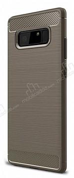 Eiroo Carbon Shield Samsung Galaxy Note 8 Ultra Koruma Dark Silver Kılıf