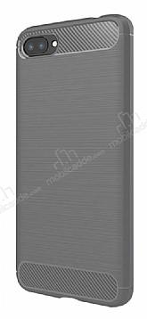 Eiroo Carbon Shield Asus Zenfone 4 Max ZC554KL Ultra Koruma Gri Kılıf