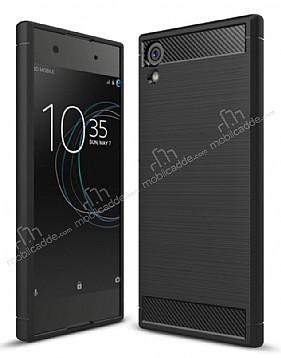 Eiroo Carbon Shield Sony Xperia XA1 Ultra Süper Koruma Siyah Kılıf