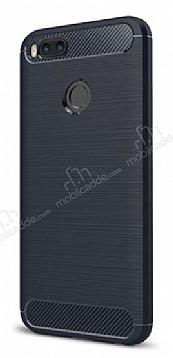 Eiroo Carbon Shield Xiaomi Mi 5X Ultra Koruma Lacivert Kılıf