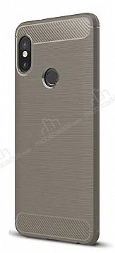 Eiroo Carbon Shield Xiaomi Mi 8 SE Ultra Koruma Dark Silver Kılıf