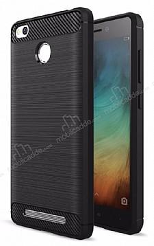 Eiroo Carbon Shield Xiaomi Redmi Note 3 Pro Ultra Koruma Siyah Kılıf