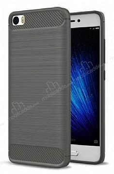 Eiroo Carbon Shield Xiaomi Redmi 4A Ultra Koruma Dark Silver Kılıf