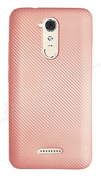 Eiroo Carbon Thin Casper Via M3 Ultra İnce Rose Gold Silikon Kılıf