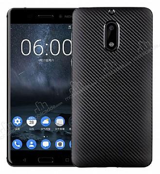 Eiroo Carbon Thin Nokia 5 Ultra İnce Siyah Silikon Kılıf