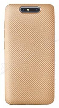 Eiroo Carbon Thin Turkcell T80 Ultra İnce Gold Silikon Kılıf