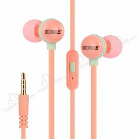 Eiroo Cartoon Mikrofonlu Kulakiçi Açık Pembe Kulaklık