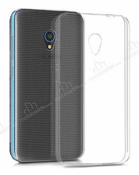 Eiroo Clear Alcatel U5 / U5 Plus Şeffaf Silikon Kılıf