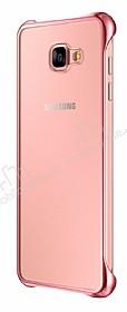 Eiroo Color Thin Samsung Galaxy A3 2016 Rose Gold Rubber Kılıf