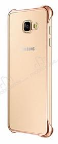 Eiroo Color Thin Samsung Galaxy A3 2016 Gold Rubber Kılıf