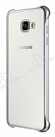 Eiroo Color Thin Samsung Galaxy A3 2016 Silver Rubber Kılıf